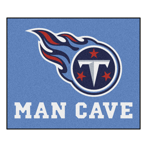 Tennessee Titans Man Cave Tailgater Rug 5x6 - FANMATS - Dropship Direct Wholesale