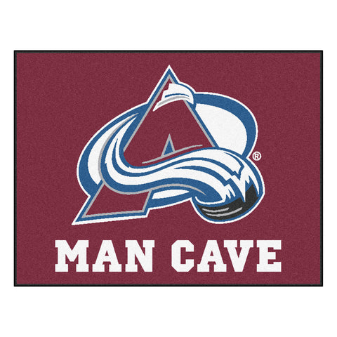 Colorado Avalanche Man Cave All-Star Mat 33.75x42.5 - FANMATS - Dropship Direct Wholesale
