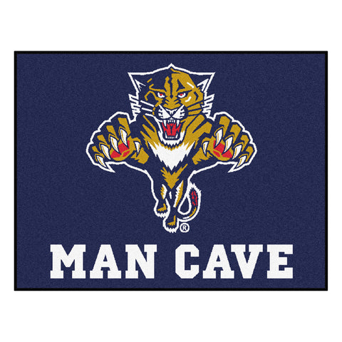 Florida Panthers Man Cave All-Star Mat 33.75x42.5 - FANMATS - Dropship Direct Wholesale