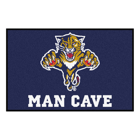 Florida Panthers Man Cave Starter Rug 19x30 - FANMATS - Dropship Direct Wholesale