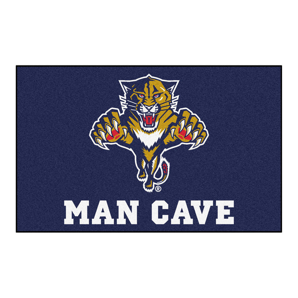 Florida Panthers Man Cave UltiMat Rug 5x8 - FANMATS - Dropship Direct Wholesale