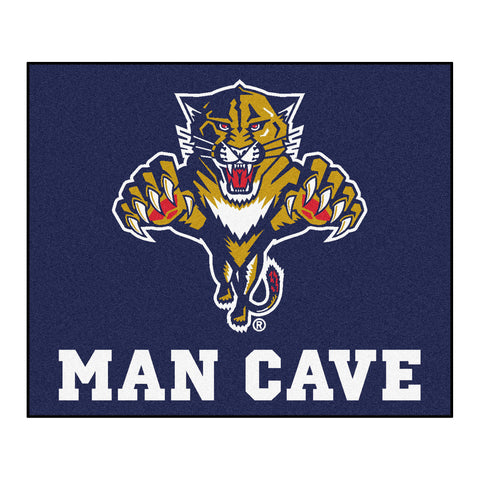 Florida Panthers Man Cave Tailgater Rug 5x6 - FANMATS - Dropship Direct Wholesale
