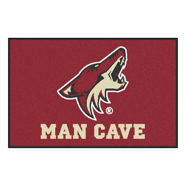 "NHL - Arizona Coyotes Man Cave Starter Rug 19""x30"" - FANMATS - Dropship Direct Wholesale"