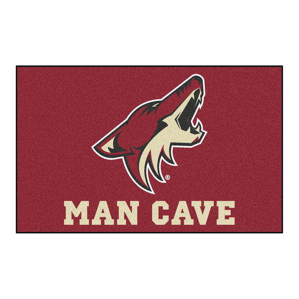 NHL - Arizona Coyotes Man Cave UltiMat Rug 5x8 - FANMATS - Dropship Direct Wholesale