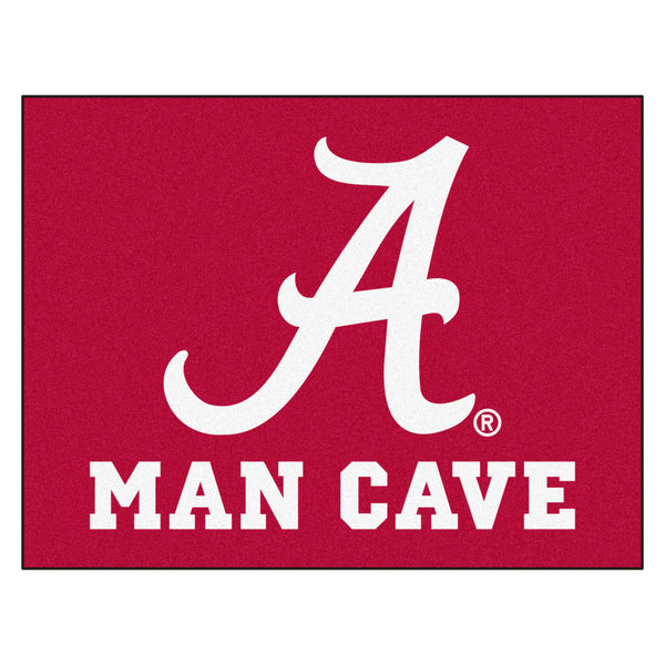 University of Alabama Man Cave All-Star Mat 33.75x42.5 - FANMATS - Dropship Direct Wholesale