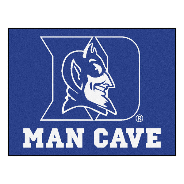 Duke University Man Cave All-Star Mat 33.75x42.5 - FANMATS - Dropship Direct Wholesale