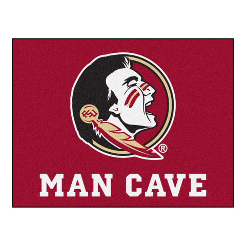 Florida State Man Cave All-Star Mat 33.75x42.5 - FANMATS - Dropship Direct Wholesale