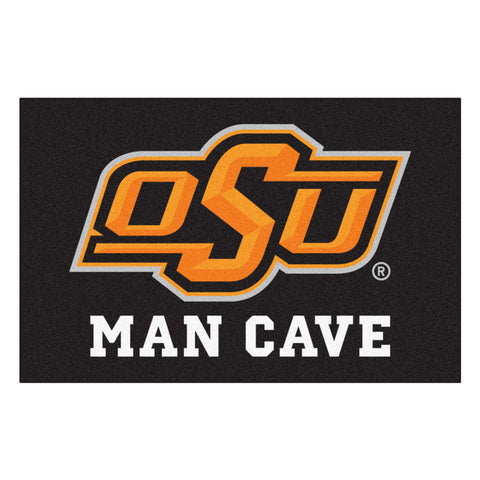 Oklahoma State Man Cave Starter Rug 19x30 - FANMATS - Dropship Direct Wholesale