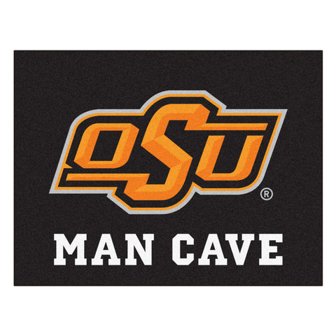 Oklahoma State Man Cave All-Star Mat 33.75x42.5 - FANMATS - Dropship Direct Wholesale