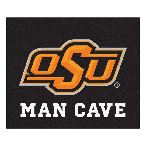 Oklahoma State Man Cave Tailgater Rug 5x6 - FANMATS - Dropship Direct Wholesale