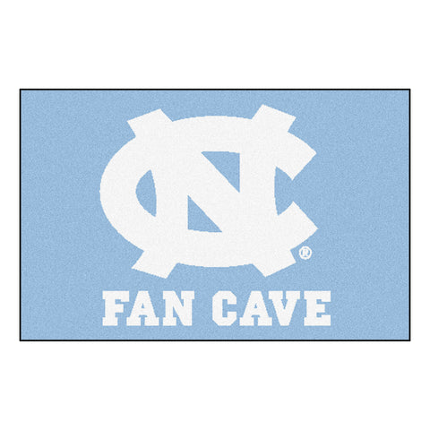 UNC - Chapel Hill Fan Cave Starter Rug 19x30 - FANMATS - Dropship Direct Wholesale