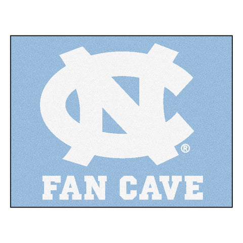 UNC - Chapel Hill Fan Cave All-Star Mat 33.75x42.5 - FANMATS - Dropship Direct Wholesale