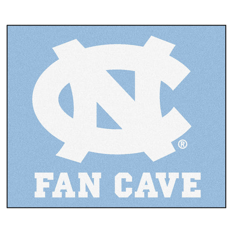 UNC - Chapel Hill Fan Cave Tailgater Rug 5x6 - FANMATS - Dropship Direct Wholesale
