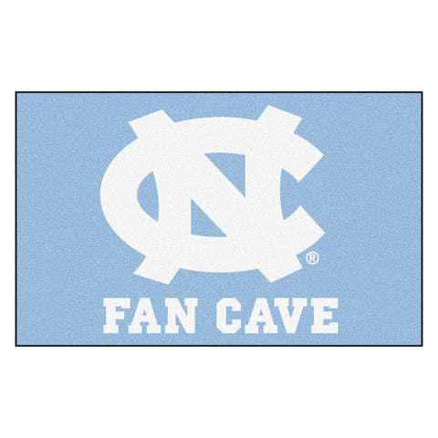 UNC - Chapel Hill Fan Cave UltiMat Rug 5x8 - FANMATS - Dropship Direct Wholesale