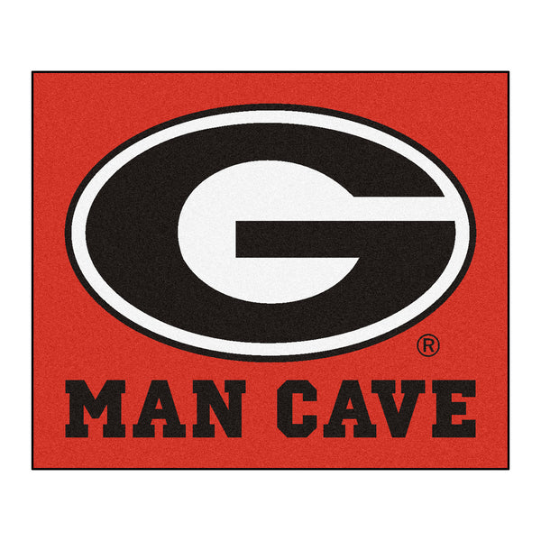 University of Georgia Man Cave Tailgater Rug 5x6 - FANMATS - Dropship Direct Wholesale