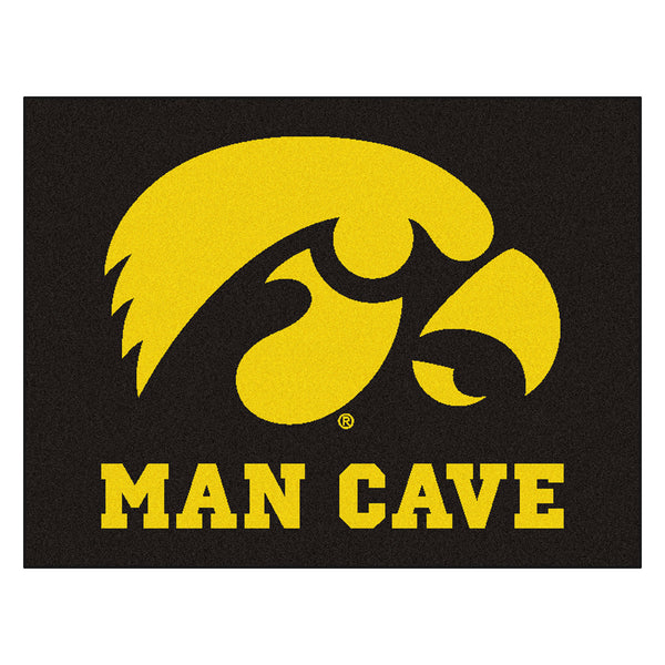 University of Iowa Man Cave All-Star Mat 33.75x42.5 - FANMATS - Dropship Direct Wholesale