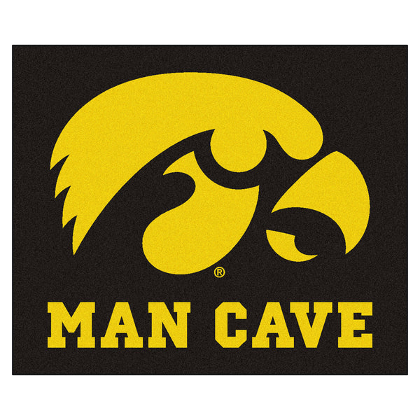 University of Iowa Man Cave Tailgater Rug 5x6 - FANMATS - Dropship Direct Wholesale