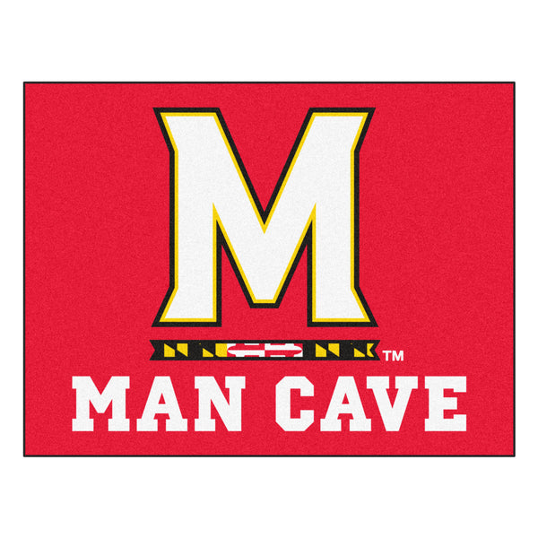 University of Maryland Man Cave All-Star Mat 33.75x42.5 - FANMATS - Dropship Direct Wholesale