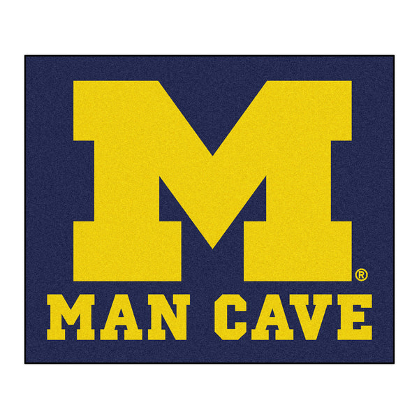 University of Michigan Man Cave Tailgater Rug 5x6 - FANMATS - Dropship Direct Wholesale
