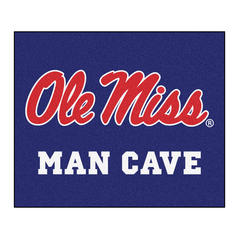 University of Mississippi - University of Mississippi Man Cave Tailgater Rug 5x6 - FANMATS - Dropship Direct Wholesale