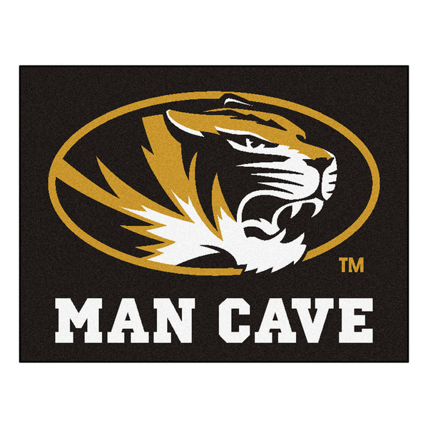 University of Missouri Man Cave All-Star Mat 33.75x42.5 - FANMATS - Dropship Direct Wholesale