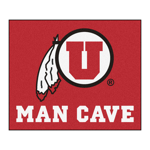University of Utah Man Cave Tailgater Rug 5x6 - FANMATS - Dropship Direct Wholesale