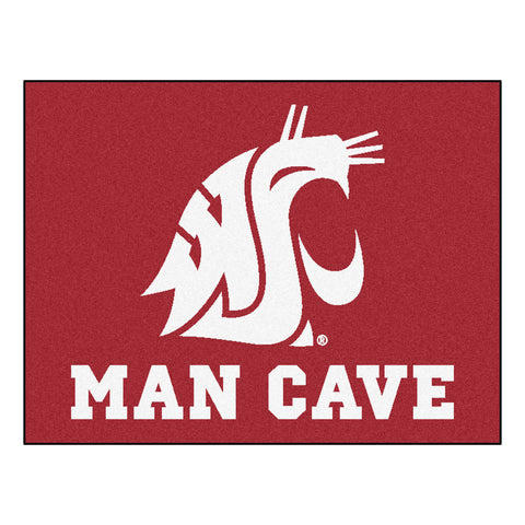 Washington State Man Cave All-Star Mat 33.75x42.5 - FANMATS - Dropship Direct Wholesale