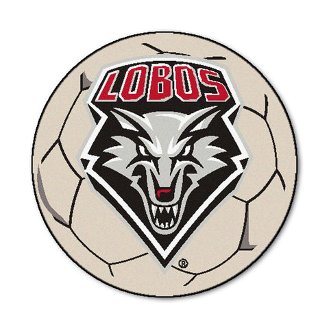 University of New Mexico Soccer Ball - FANMATS - Dropship Direct Wholesale