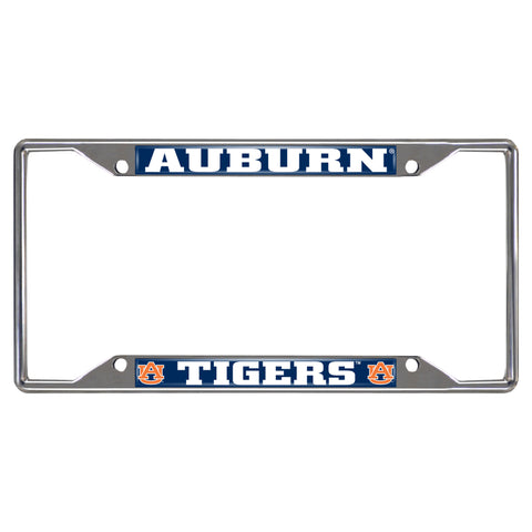 "Auburn University License Plate Frame 6.25""x12.25"" - FANMATS - Dropship Direct Wholesale"