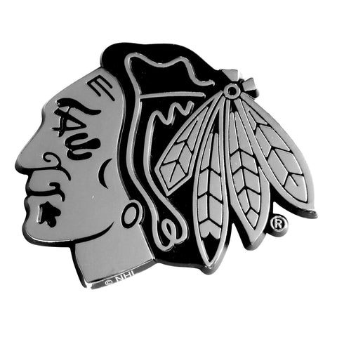 Chicago Blackhawks Emblem 2.7x3.2 - FANMATS - Dropship Direct Wholesale