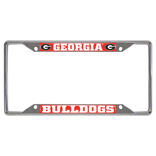 University of Georgia License Plate Frame 6.25x12.25 - FANMATS - Dropship Direct Wholesale