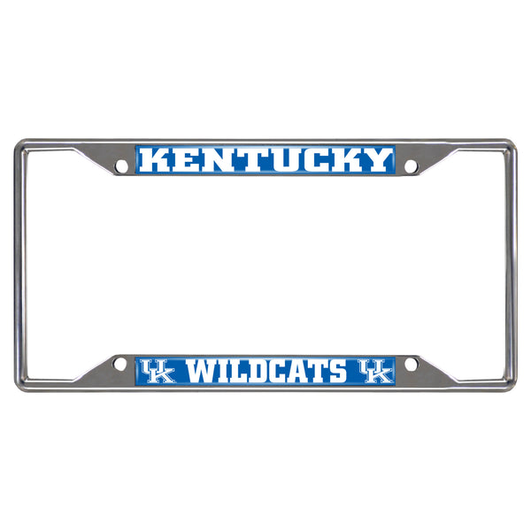 University of Kentucky License Plate Frame 6.25x12.25 - FANMATS - Dropship Direct Wholesale