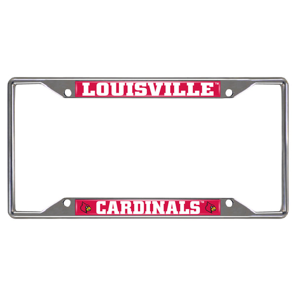 University of Louisville License Plate Frame 6.25x12.25 - FANMATS - Dropship Direct Wholesale