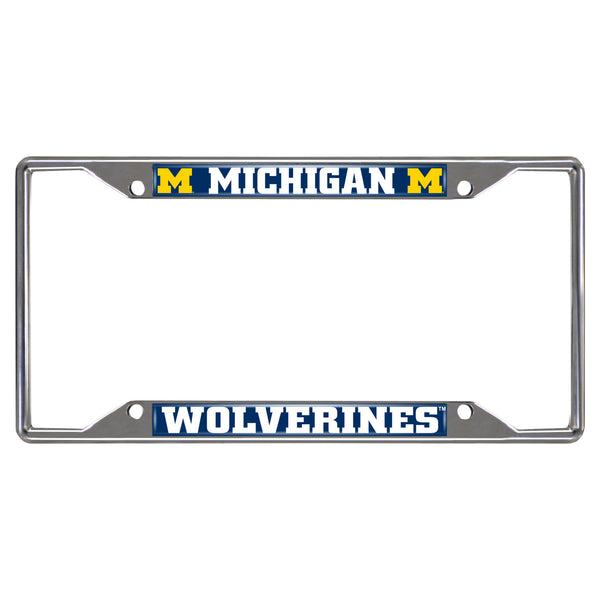 University of Michigan License Plate Frame 6.25x12.25 - FANMATS - Dropship Direct Wholesale