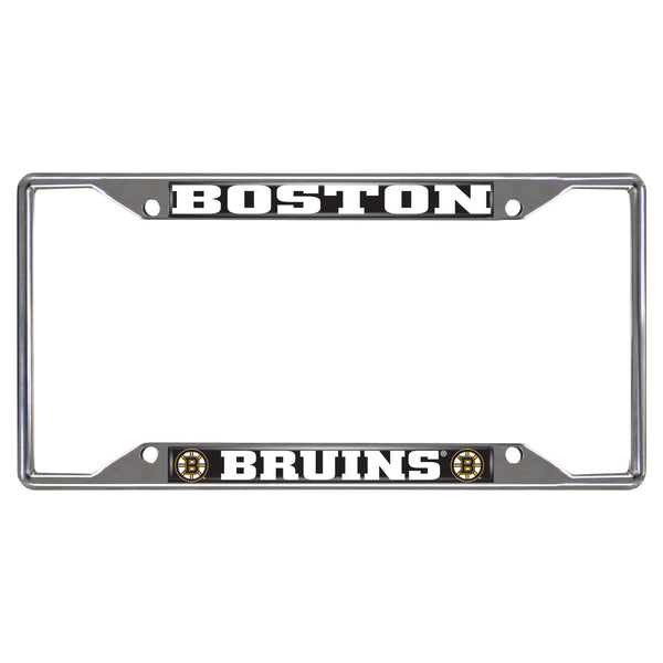 Boston Bruins License Plate Frame 6.25x12.25 - FANMATS - Dropship Direct Wholesale