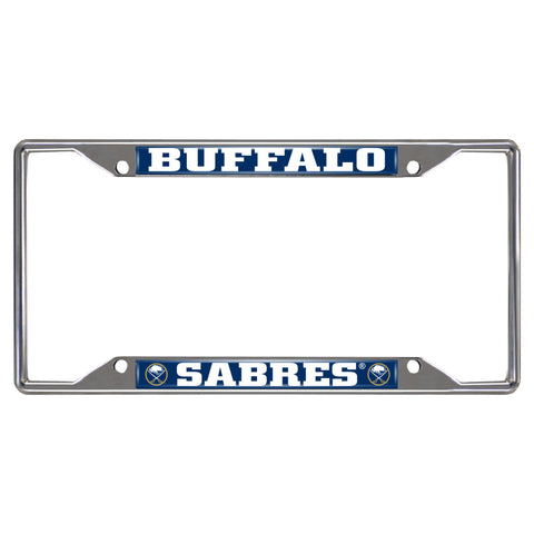 Buffalo Sabres License Plate Frame 6.25x12.25 - FANMATS - Dropship Direct Wholesale