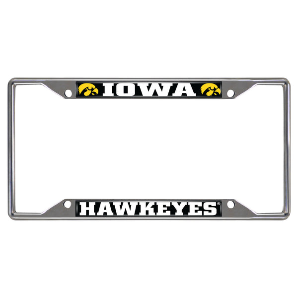 University of Iowa License Plate Frame 6.25x12.25 - FANMATS - Dropship Direct Wholesale