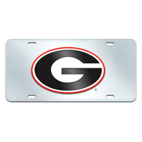 University of Georgia License Plate Inlaid 6x12 - FANMATS - Dropship Direct Wholesale