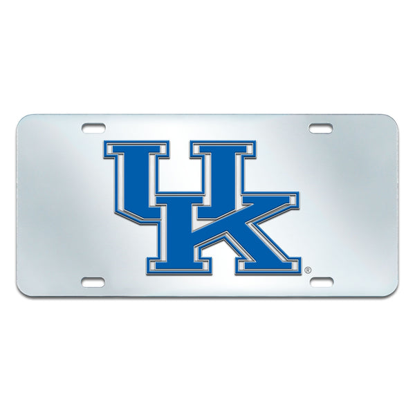 University of Kentucky License Plate Inlaid 6x12 - FANMATS - Dropship Direct Wholesale
