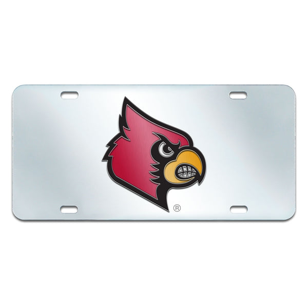 University of Louisville License Plate Inlaid 6x12 - FANMATS - Dropship Direct Wholesale