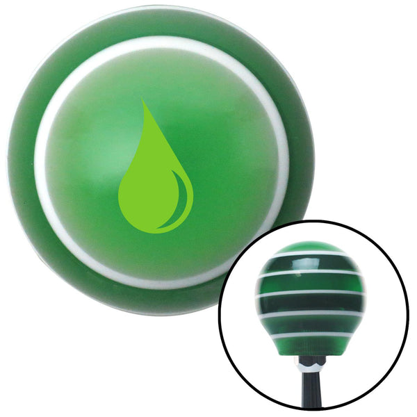 Green Drip Green Stripe Shift Knob with M16 x 15 Insert - American Shifter - Dropship Direct Wholesale
