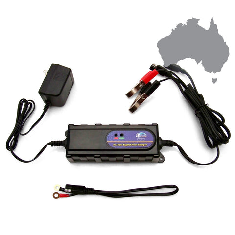 Advanced Digital Battery Charger-Australian Plug - Keep It Clean - Dropship Direct Wholesale