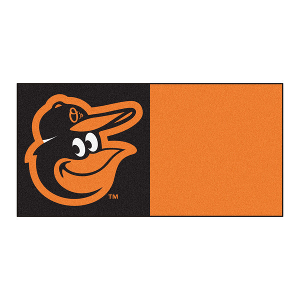 Baltimore Orioles Cartoon Bird Carpet Tiles 18x18 tiles - FANMATS - Dropship Direct Wholesale