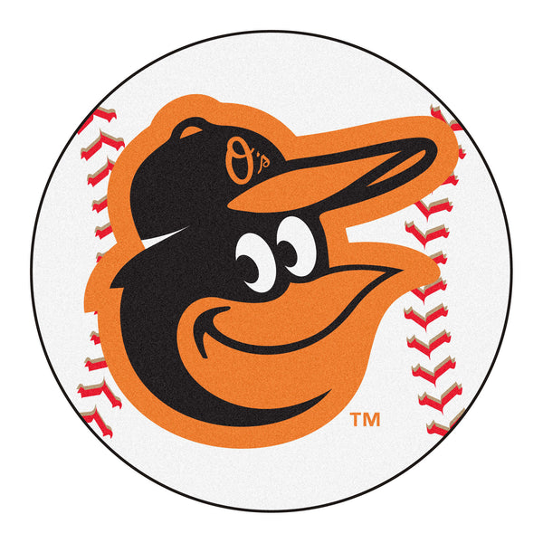 Baltimore Orioles Cartoon Bird Baseball Mat 27 diameter - FANMATS - Dropship Direct Wholesale