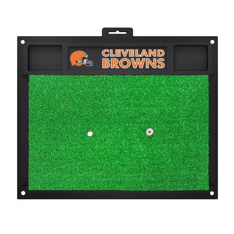 Cleveland Browns Golf Hitting Mat 20 x 17 - FANMATS - Dropship Direct Wholesale
