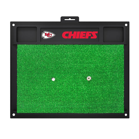 Kansas City Chiefs Golf Hitting Mat 20 x 17 - FANMATS - Dropship Direct Wholesale