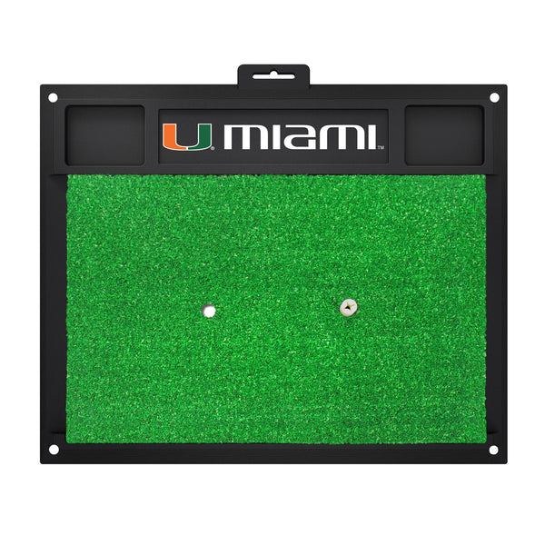 University of Miami Golf Hitting Mat 20 x 17 - FANMATS - Dropship Direct Wholesale
