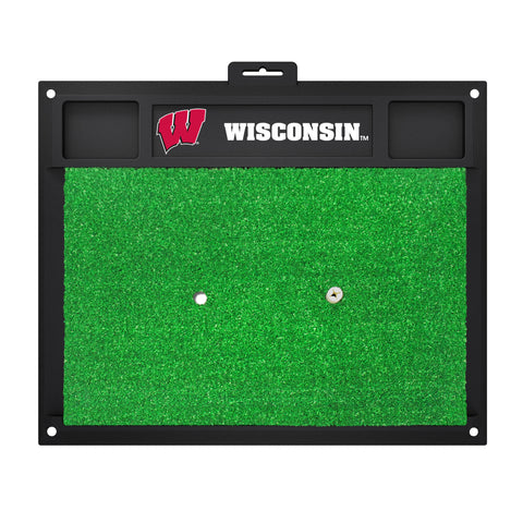 University of Wisconsin Golf Hitting Mat 20 x 17 - FANMATS - Dropship Direct Wholesale