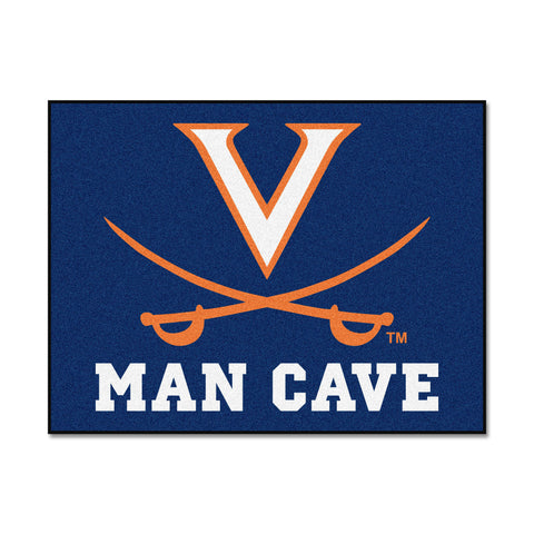 University of Virginia Man Cave All-Star Mat 33.75x42.5 - FANMATS - Dropship Direct Wholesale