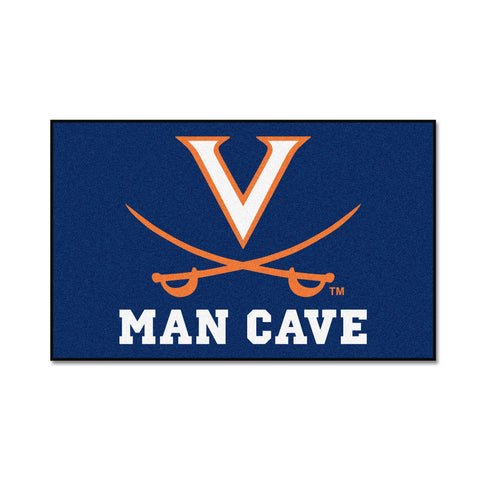 University of Virginia Man Cave UltiMat Rug 5x8 - FANMATS - Dropship Direct Wholesale